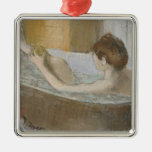 Woman in her Bath, Sponging her Leg, c.1883 Ornaments
