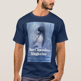 Woman in Ice Glancing Up T-Shirt