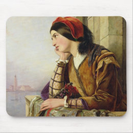 Woman in Love, 1856 Mouse Pad