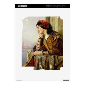 Woman in Love, 1856 Skin For iPad 3