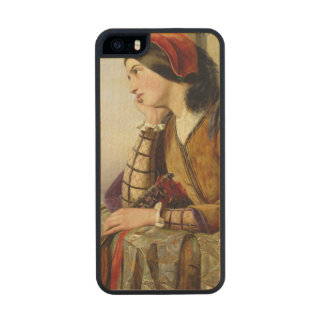 Woman in Love, 1856 Wood Phone Case For iPhone SE/5/5s