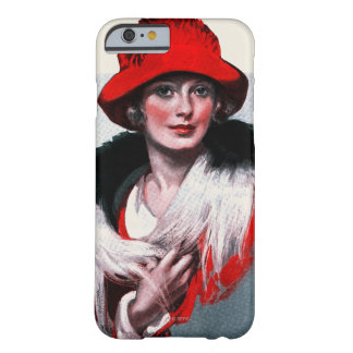 Woman in Red Hat Barely There iPhone 6 Case
