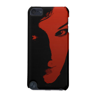 Woman in Red iPod Touch 5G Cover