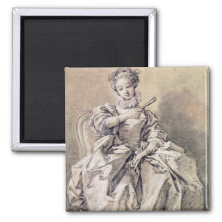 Woman in Spanish Costume Magnet