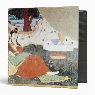 Woman in the Garden of Shah Abbas I Binder