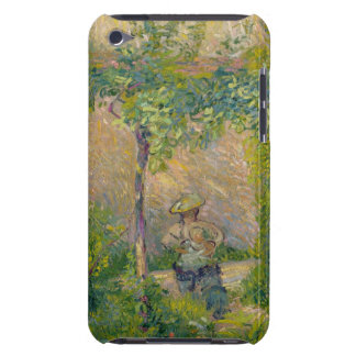 Woman in the Garden (oil on canvas) Case-Mate iPod Touch Case