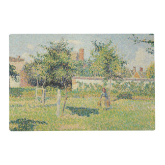 Woman in the Meadow at Eragny, Spring, 1887 Placemat
