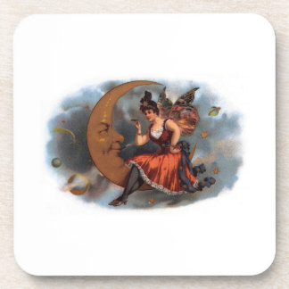 Woman in the Moon Coasters