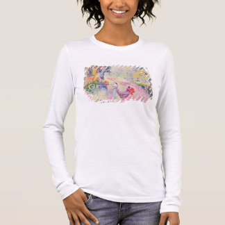 Woman in the Park, 1909 (oil on canvas) Long Sleeve T-Shirt