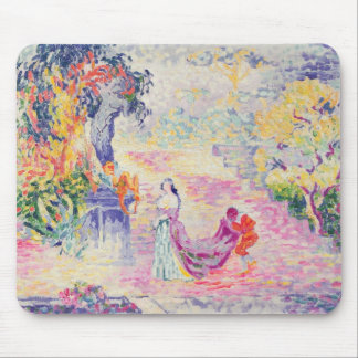 Woman in the Park, 1909 (oil on canvas) Mouse Pad