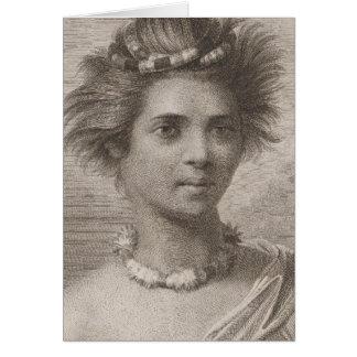 Woman in the Sandwich Islands Card