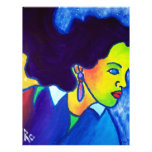 Woman in Thought by Piliero Full Color Flyer
