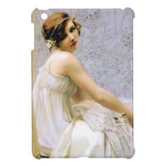 Woman in White Dress painting iPad Mini Case