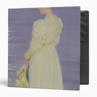 Woman in White on a Beach, 1893 Binder