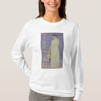 Woman in White on a Beach, 1893 T-Shirt