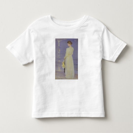 Woman in White on a Beach, 1893 Toddler T-shirt