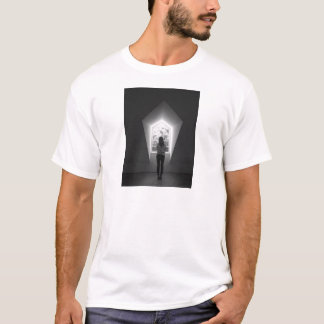 woman in wondow T-Shirt