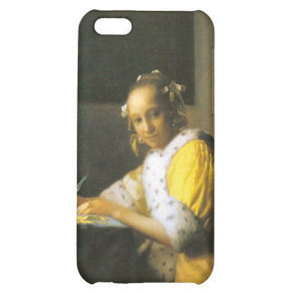 Woman in yellow by Johannes Vermeer iPhone 5C Cover