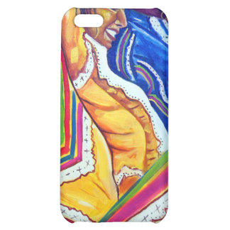 Woman in Yellow Dress iPhone 5C Covers