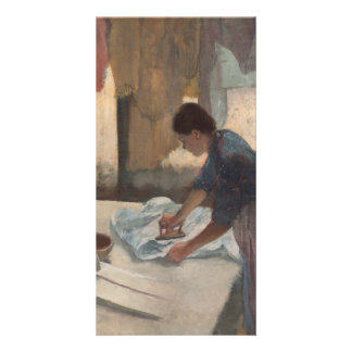 Woman Ironing by Edgar Degas Card