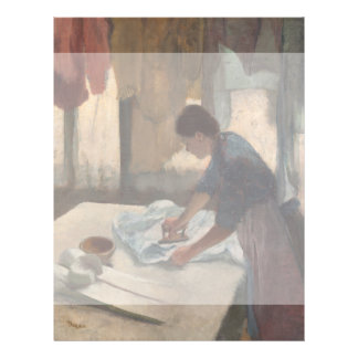 Woman Ironing by Edgar Degas Flyers