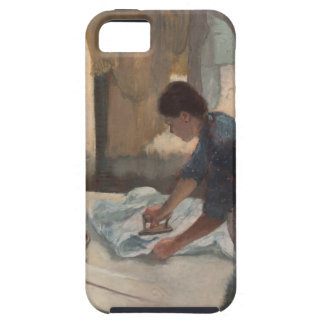 Woman Ironing by Edgar Degas iPhone SE/5/5s Case