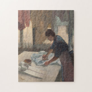 Woman Ironing by Edgar Degas Jigsaw Puzzle
