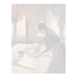Woman Ironing by Edgar Degas Letterhead