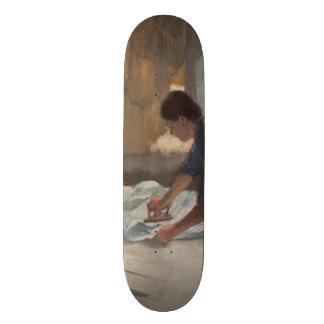 Woman Ironing by Edgar Degas Skateboard