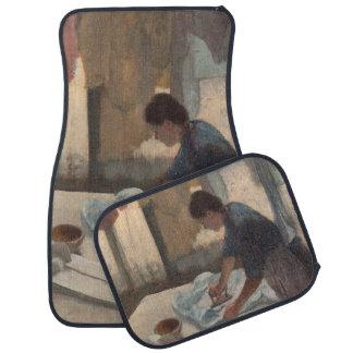 Woman Ironing by Edgar Degas Car Mat