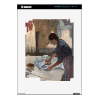 Woman Ironing, c.1876-87 (oil on canvas) Decal For iPad 3