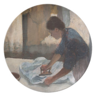 Woman Ironing, c.1876-87 (oil on canvas) Plate
