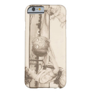 Woman Jack O' Lantern Scaring Cupid Barely There iPhone 6 Case