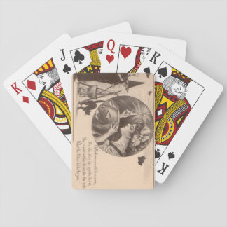 Woman Jack O' Lantern Witch Black Cat Deck Of Cards