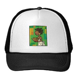 Woman Kwanzaa Trucker Hat