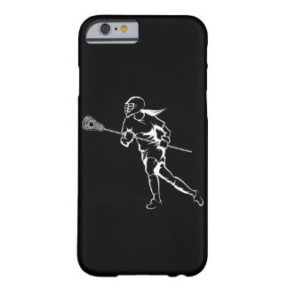 Woman Lacrosse Player Running Barely There iPhone 6 Case