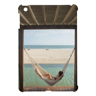 Woman Laying On A Hammock At A Small Hotel Case For The iPad Mini