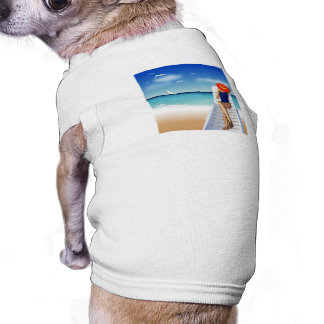 woman laying on the beach shirt