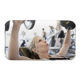 Woman Lifting Weights Case-Mate iPhone 3 Cases