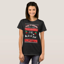 Woman Loves Miniature Horse Christmas Ugly Sweater