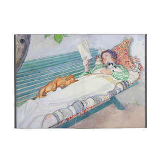 Woman Lying on a Bench, 1913 (w/c on paper) Covers For iPad Mini