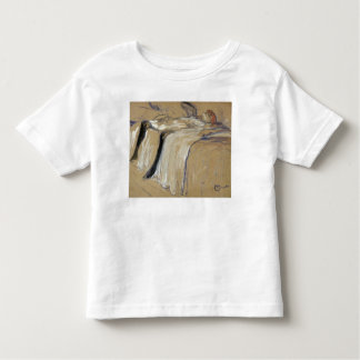 Woman lying on her Back - Lassitude Toddler T-shirt
