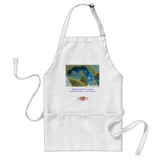 Woman Made of he Cosmos/Apron Adult Apron