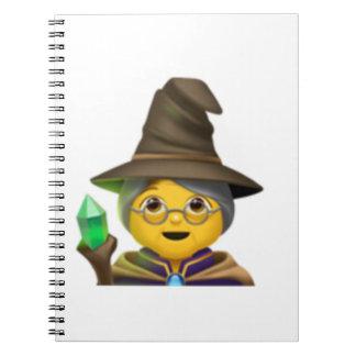 Woman Mage - Emoji Notebook