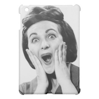 Woman Making Face iPad Mini Cover