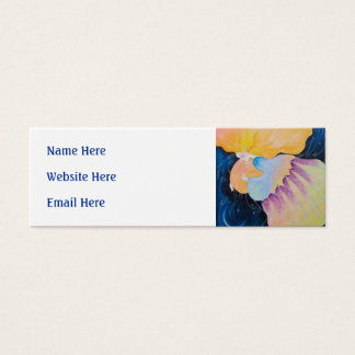 Woman. Mini Business Card