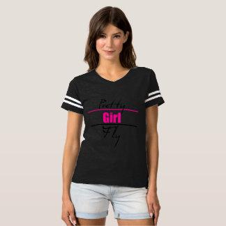 Woman Mischief Black Pretty Girl Power Shirt