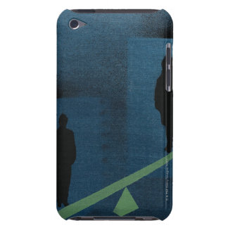 Woman Not Carrying Equal Weight iPod Touch Cover