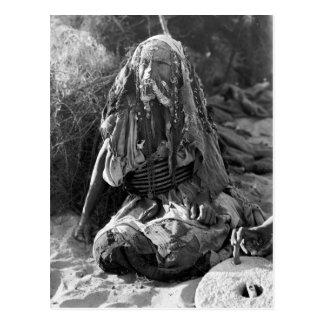 Woman of Beersheba Postcard