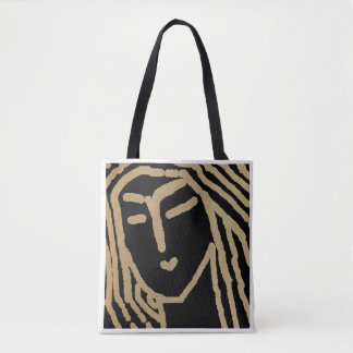 Woman of Bengal Tote Bag